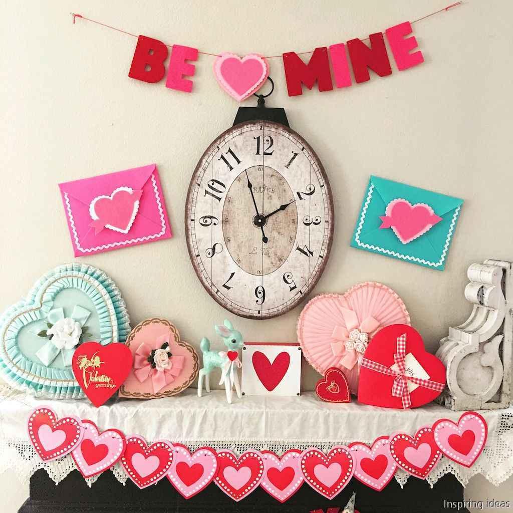 62 beautiful vintage valentine decorations ideas