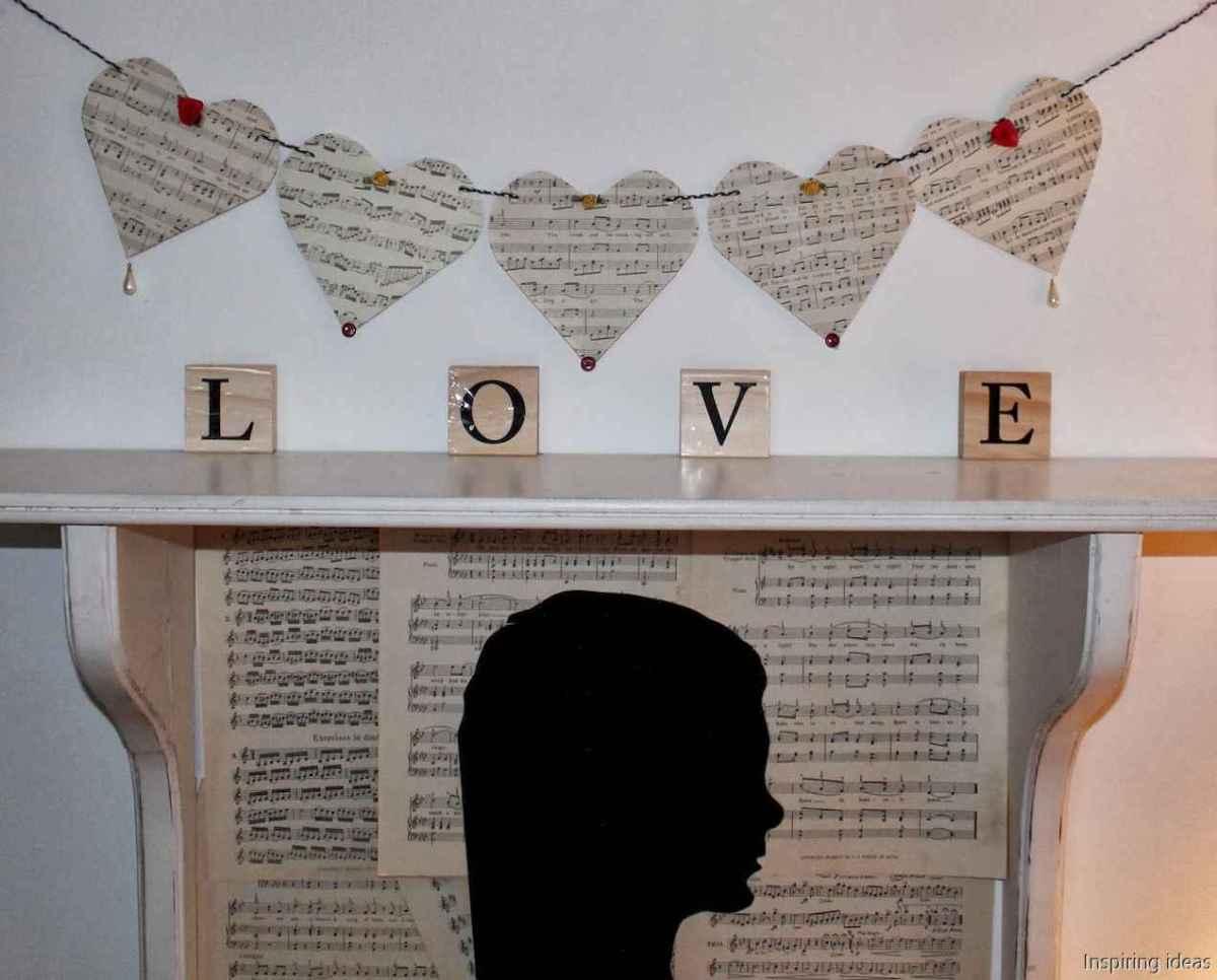 67 beautiful vintage valentine decorations ideas
