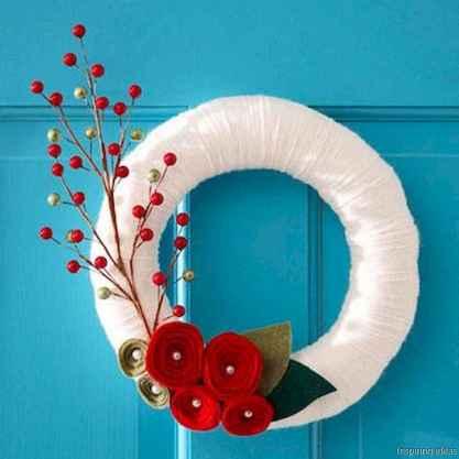 8 sweetest valentine wreaths ideas for your front door