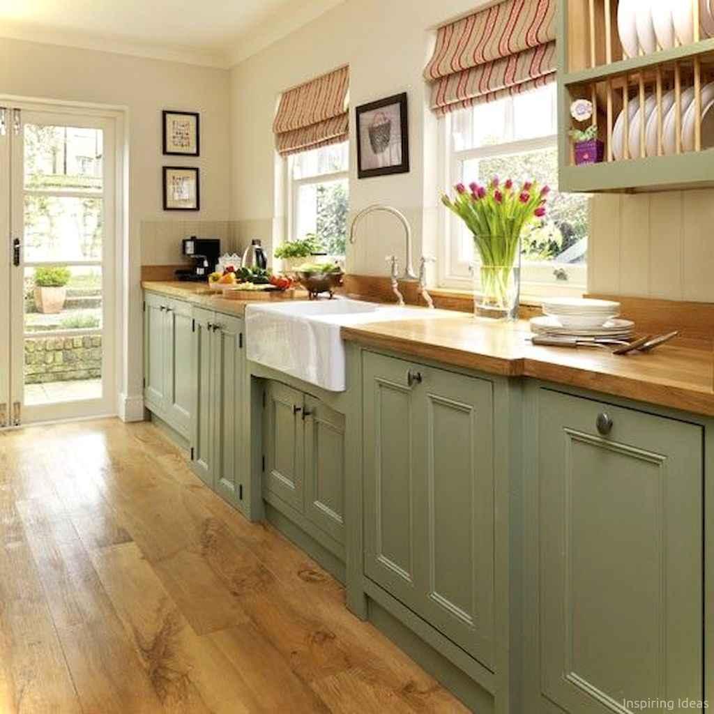 Amazing cottage kitchen cabinets ideas059
