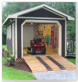 Clever garden shed storage ideas19