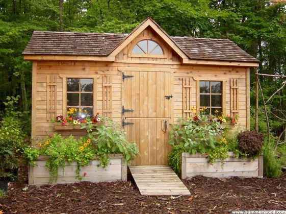 Incredible garden shed plans ideas 15