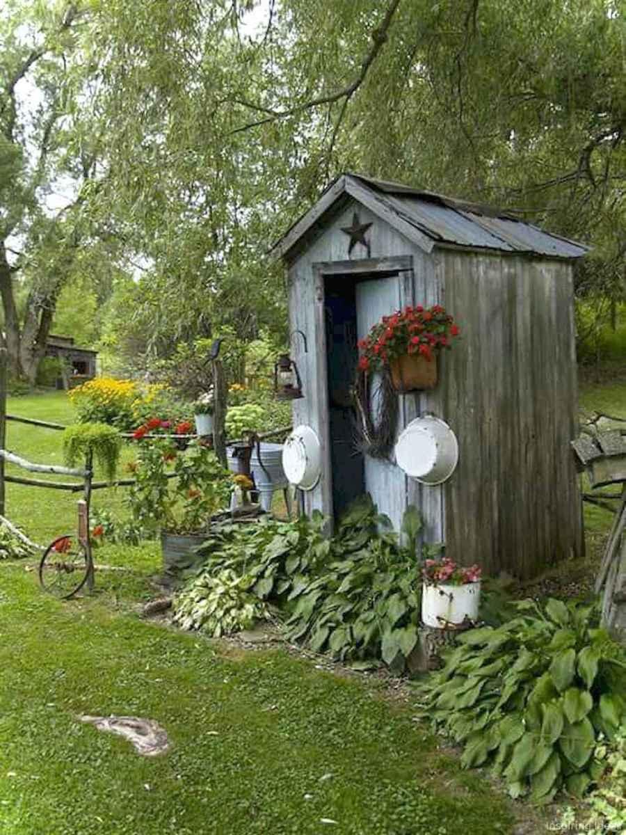 Inspiring garden shed ideas you can afford 55