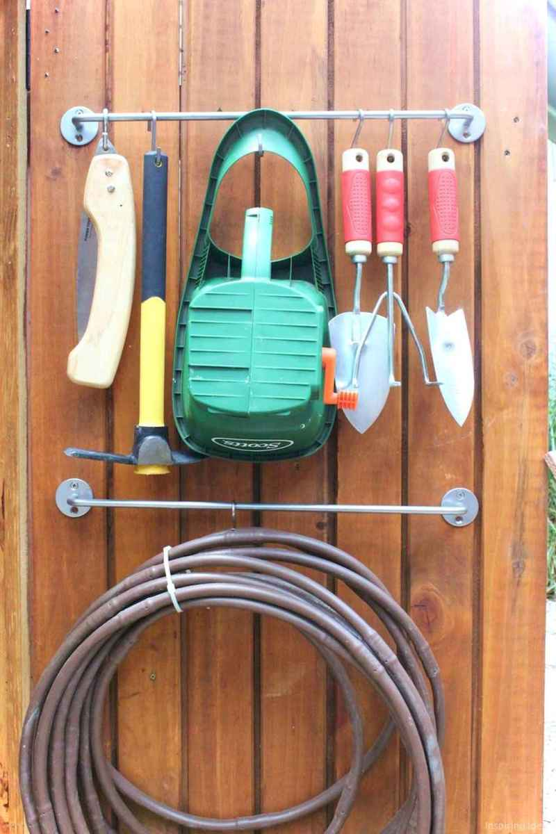 Smart garden shed organization ideas 36