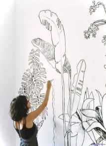 Artsy wall painting ideas for your home 39