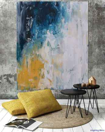Artsy wall painting ideas for your home 60