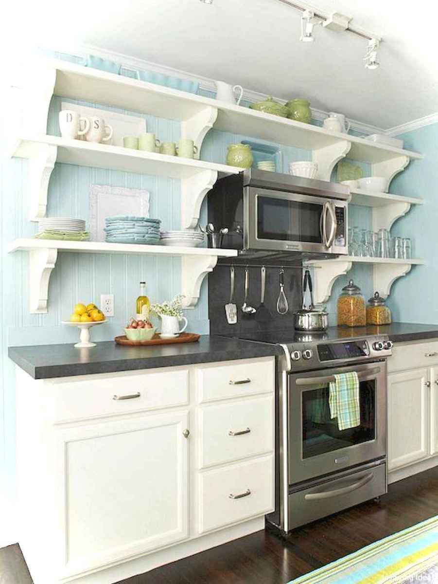 Genius small cottage kitchen design ideas013