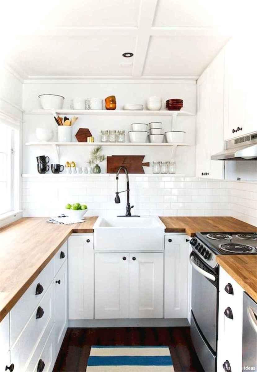 Genius small cottage kitchen design ideas026