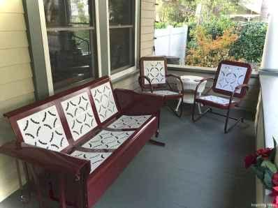 Vintage front porches furniture ideas 5