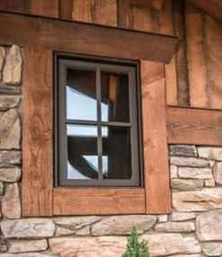 100 modern rustic window trim ideas