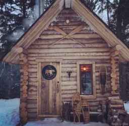 104 rustic log cabin homes design ideas