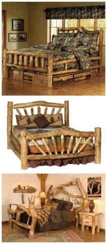11 genius rustic storage bed design ideas