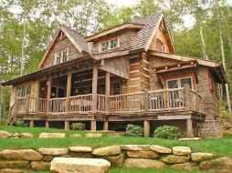 133 rustic log cabin homes design ideas