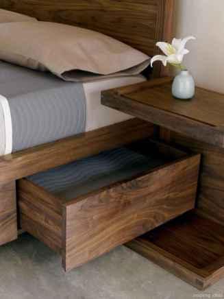 17 genius rustic storage bed design ideas