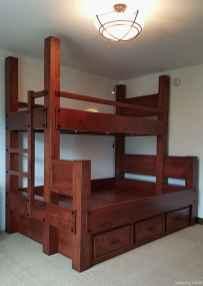 20 genius rustic storage bed design ideas