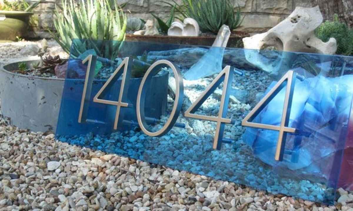 30 awesome diy modern address plate design ideas