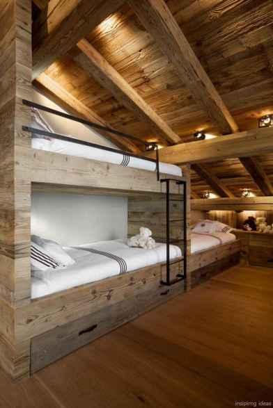 34 genius rustic storage bed design ideas