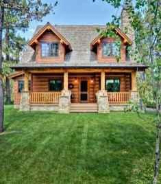 35 rustic log cabin homes design ideas