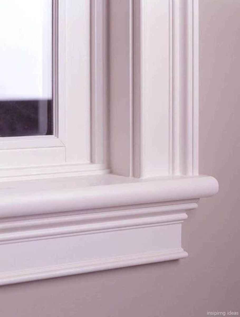 56 modern rustic window trim ideas