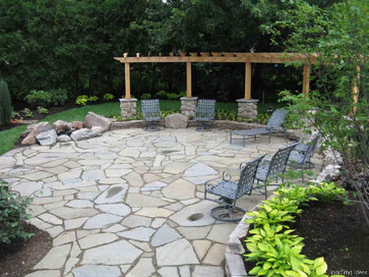 58 awesome gravel patio ideas with pergola