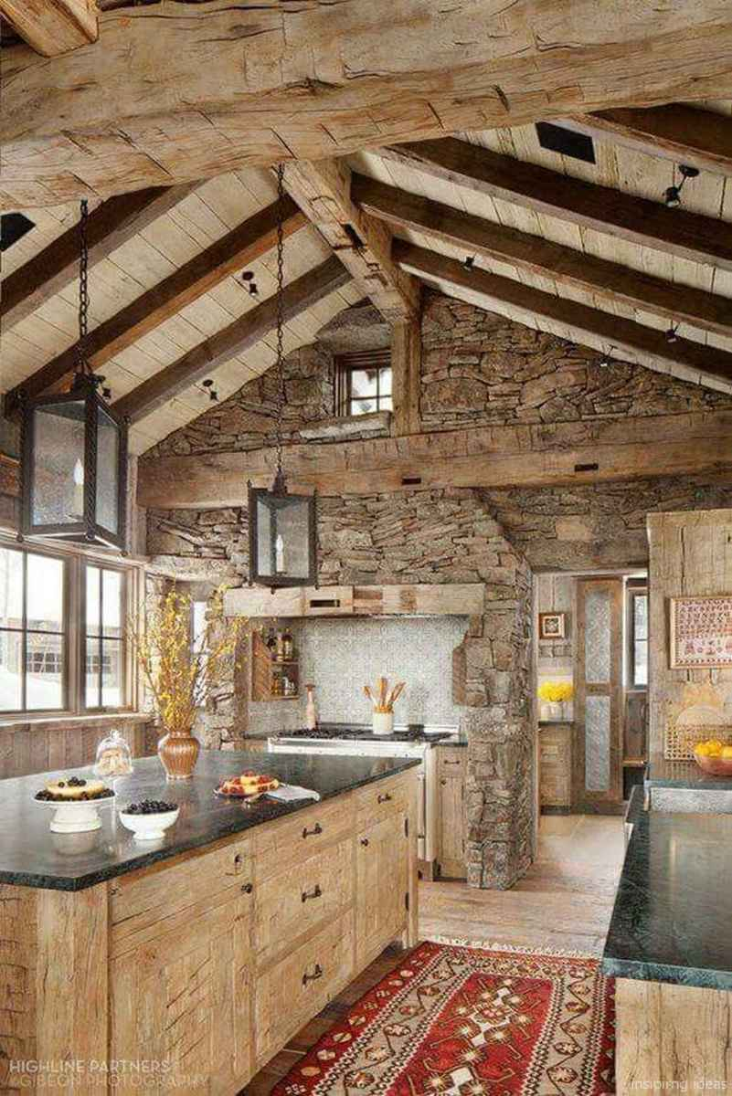 68 rustic log cabin homes design ideas