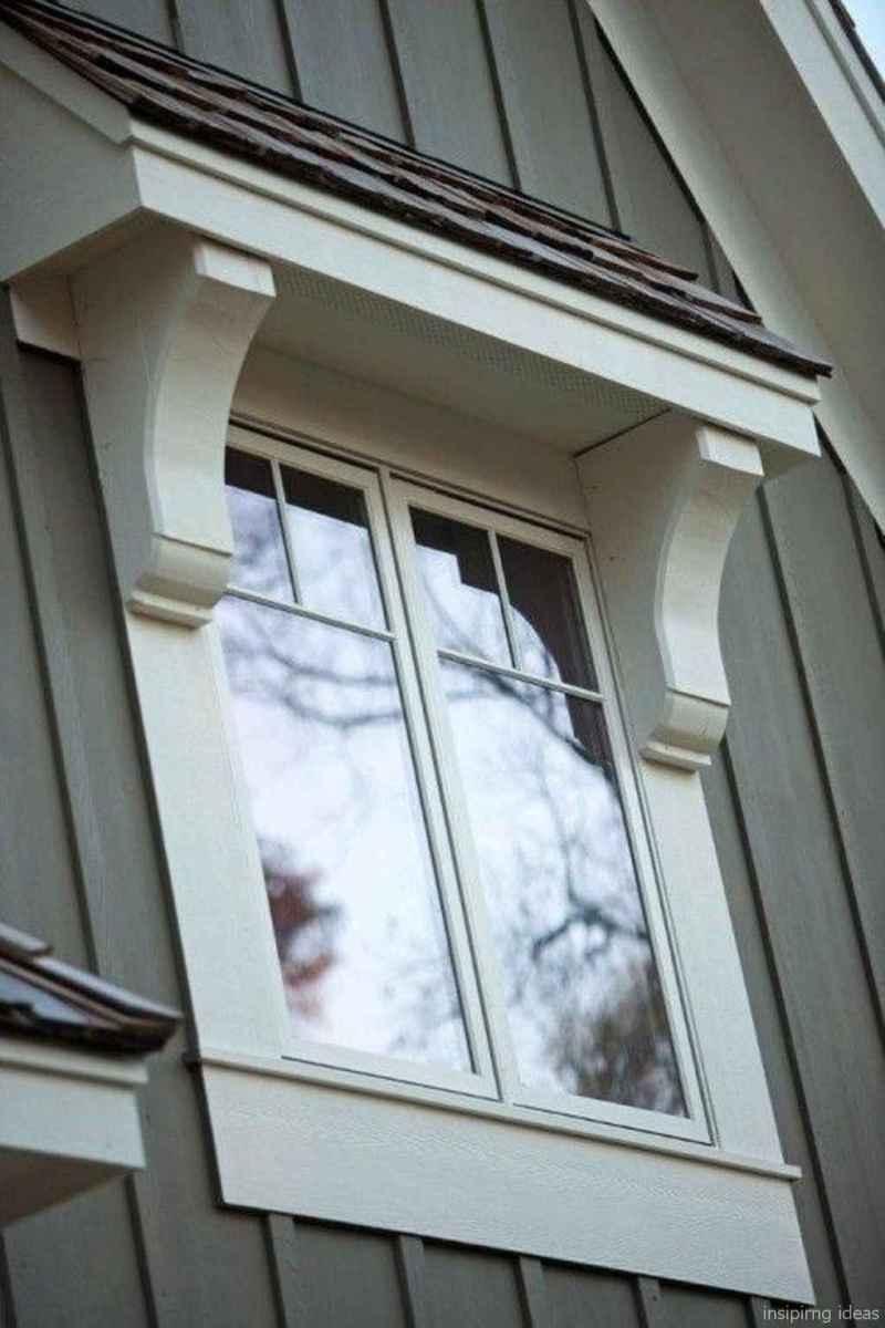 70 modern rustic window trim ideas
