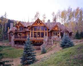 70 rustic log cabin homes design ideas