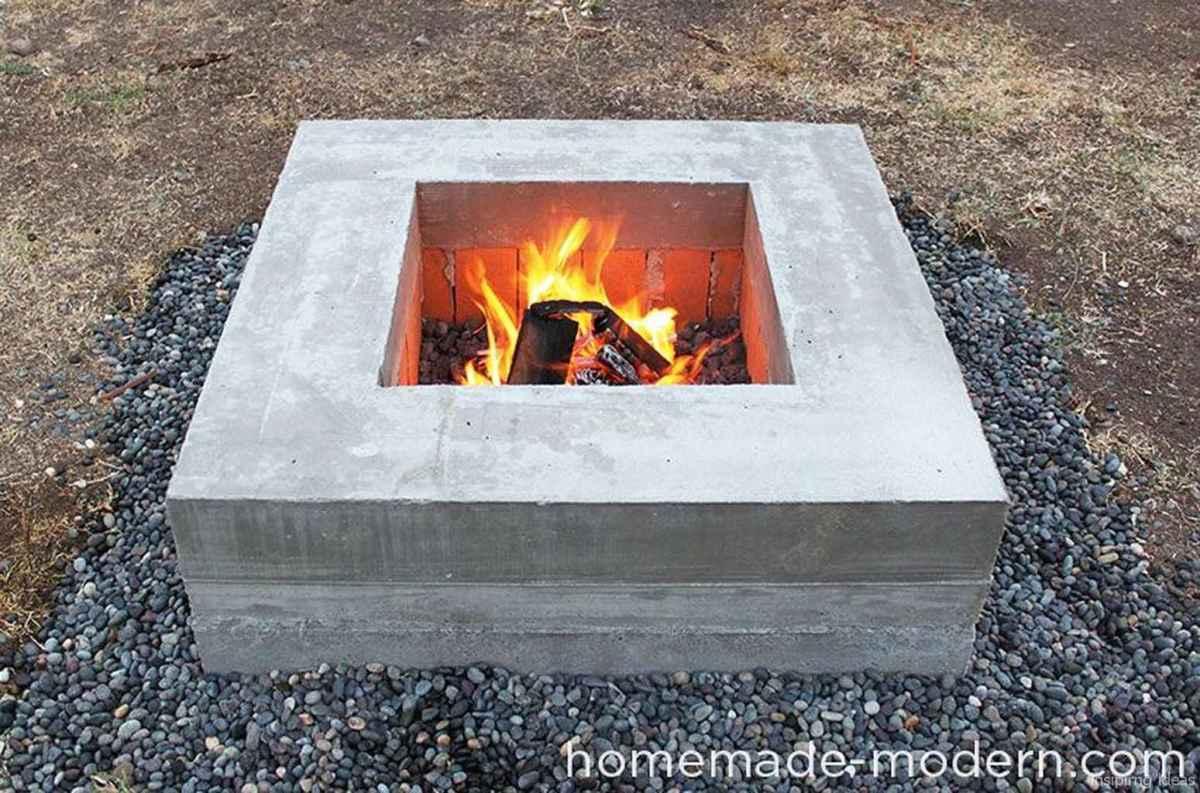 73 diy backyard fire pits design ideas