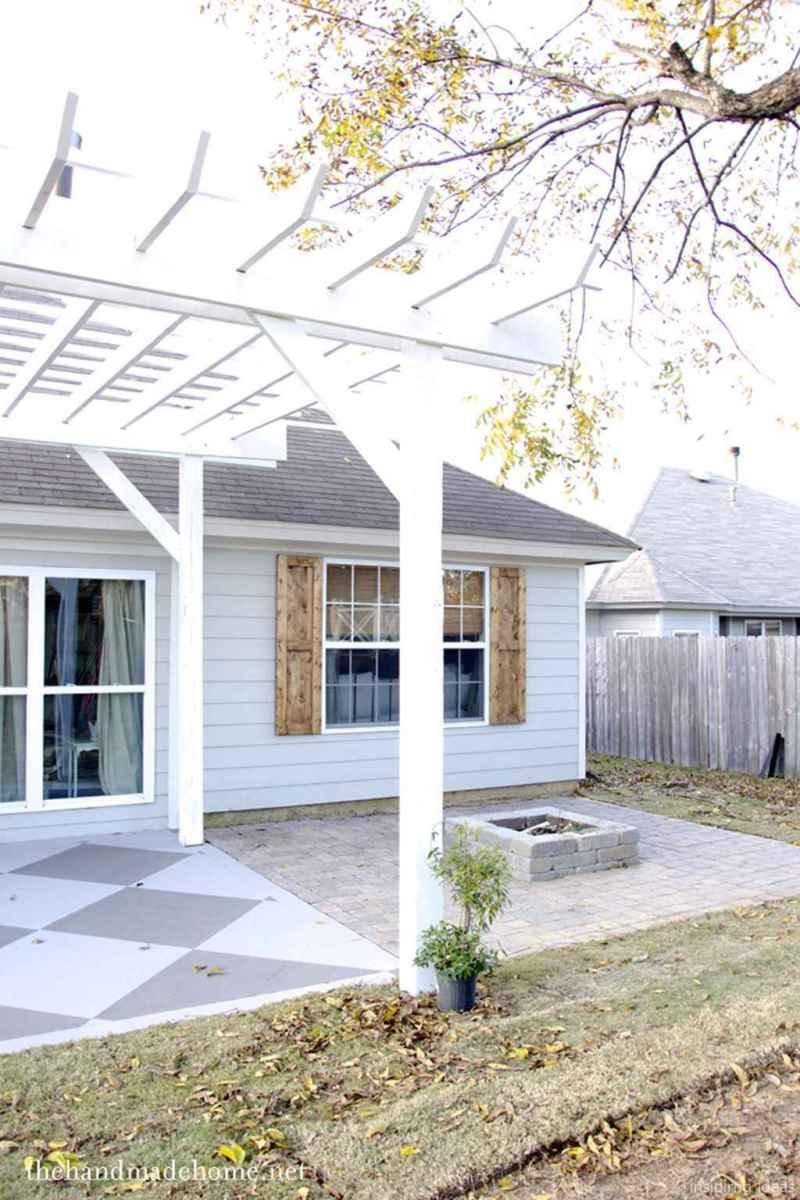 79 awesome gravel patio ideas with pergola