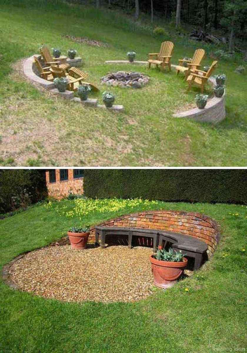 80 diy backyard fire pits design ideas