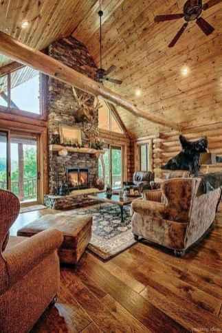 92 rustic log cabin homes design ideas