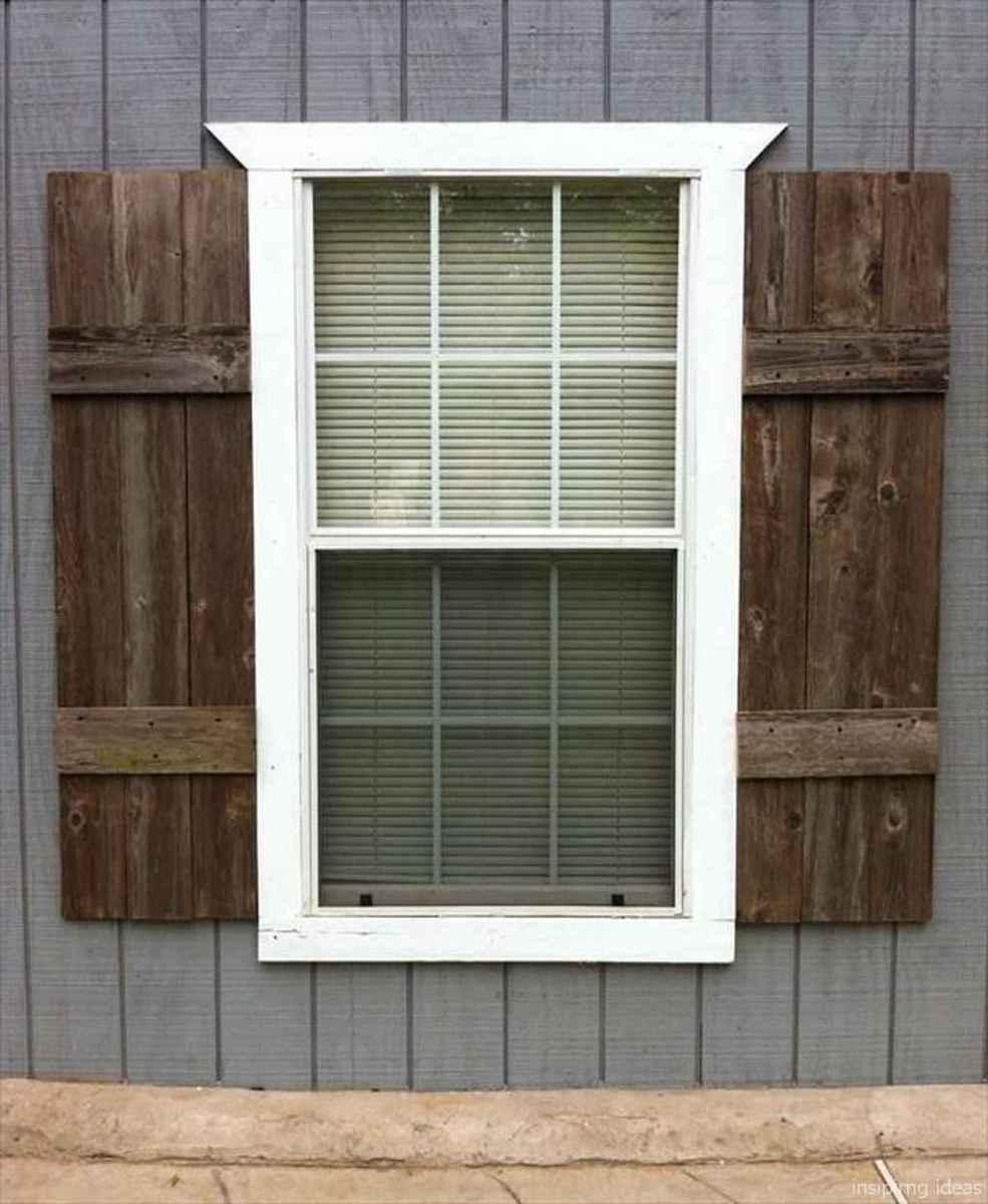95 modern rustic window trim ideas