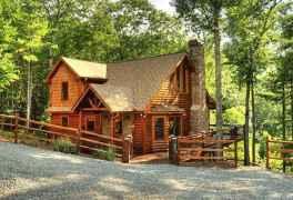 97 rustic log cabin homes design ideas