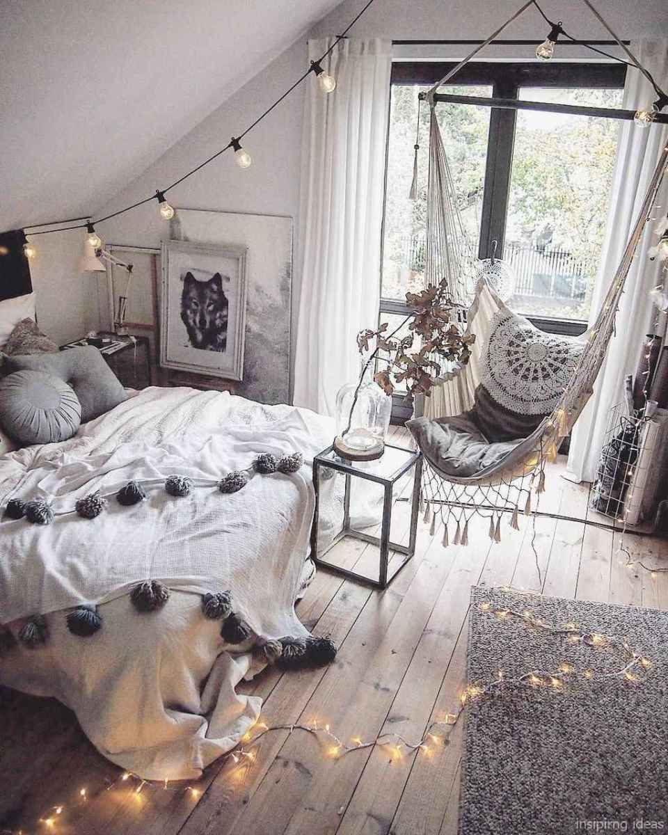 Rustic home decor ideas for bedroom 23