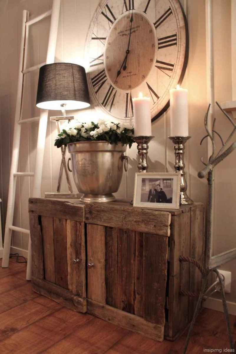 Rustic home decor ideas for bedroom 33
