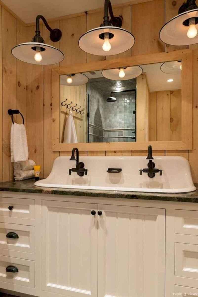 01 fabulous modern farmhouse bathroom vanity ideas
