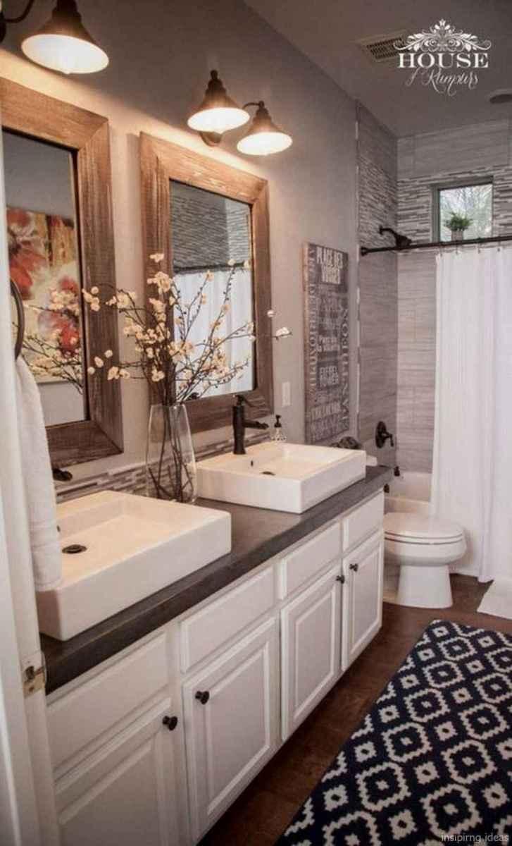 02 fabulous modern farmhouse bathroom vanity ideas