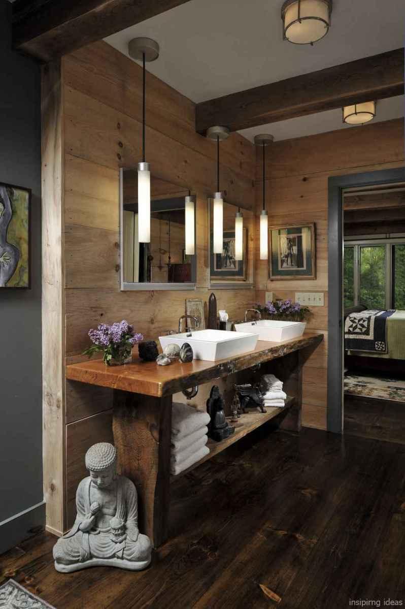 08 fabulous modern farmhouse bathroom vanity ideas