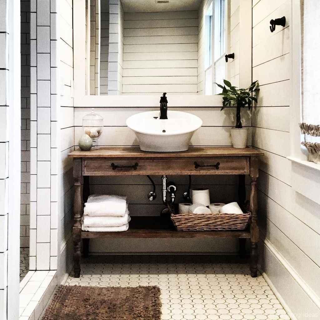 27 fabulous modern farmhouse bathroom vanity ideas