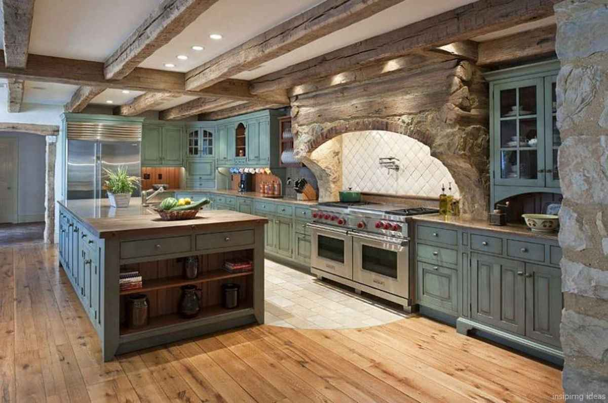 29 best modern farmhouse kitchen cabinets ideas