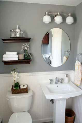 39 awesome small powder room ideas