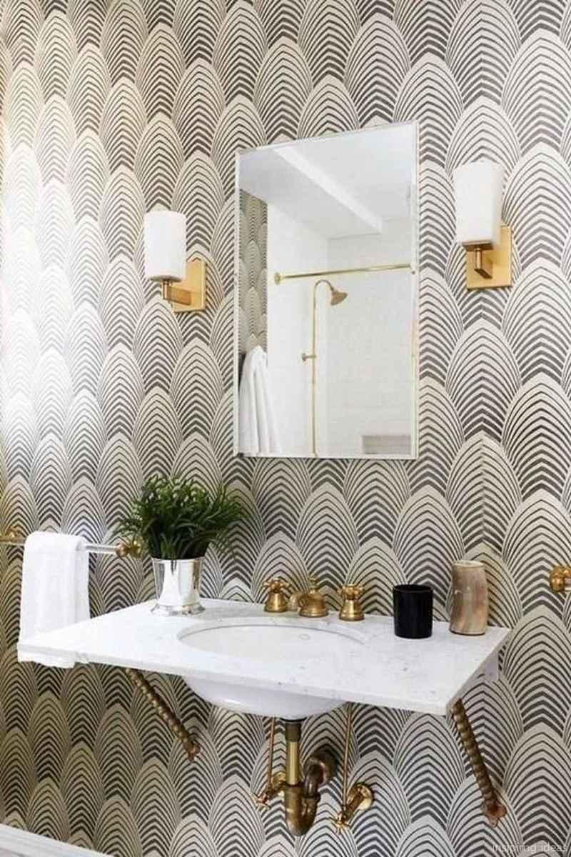 50 modern farmhouse small bathroom wall color ideas 14