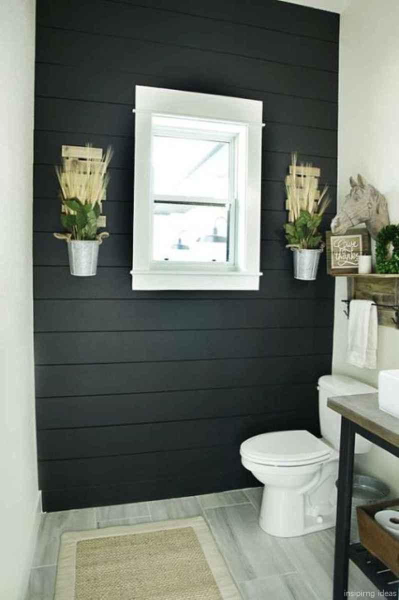 50 modern farmhouse small bathroom wall color ideas 15