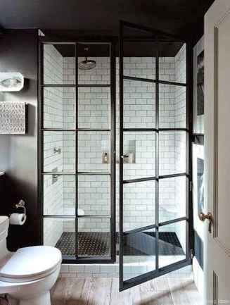 50 modern farmhouse small bathroom wall color ideas 25