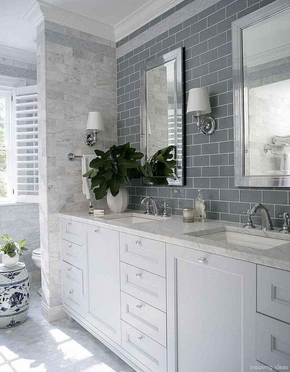 50 modern farmhouse small bathroom wall color ideas 28