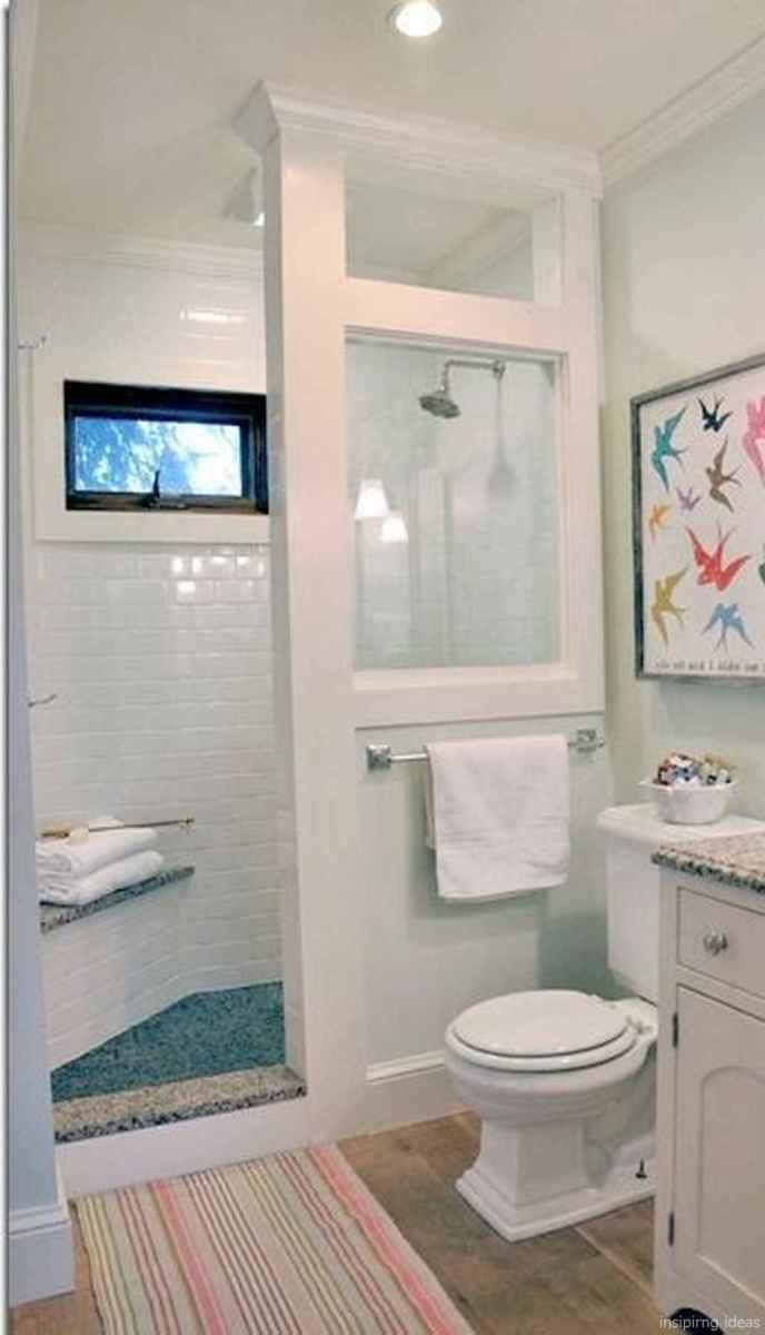 50 modern farmhouse small bathroom wall color ideas 34