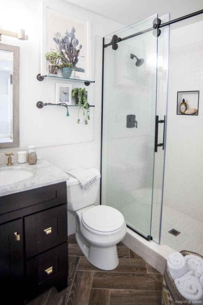 50 modern farmhouse small bathroom wall color ideas 39