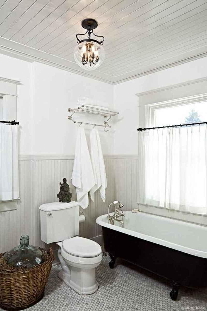 50 modern farmhouse small bathroom wall color ideas 44