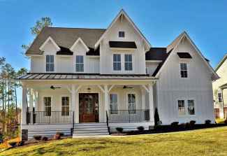 70 affordable modern farmhouse exterior plans ideas 03