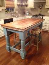 Awesome farmhouse kitchen table design ideas 01